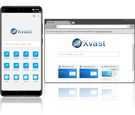 Customize Xvast (Chrome) Browser, Video Encryption Software, Digital