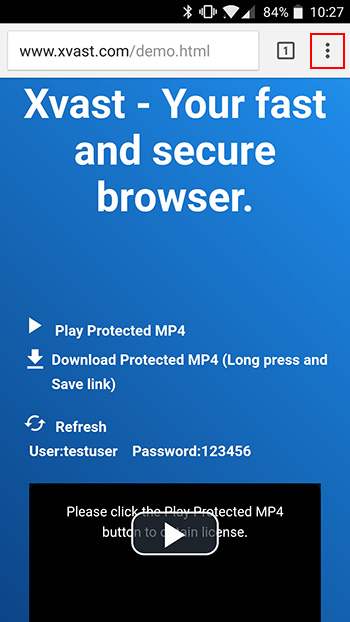 How to use Xvast on Android of DRM-X com - Digital Rights